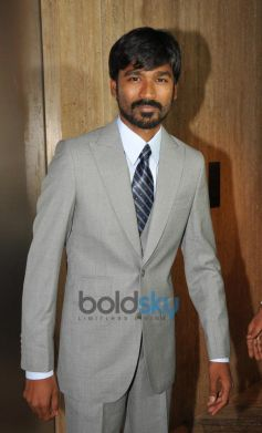 Dhanush at Idea Filmfare 2013 Press Conference