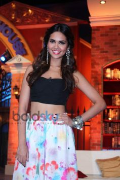 Esha Gupta at Humshakals Promotion