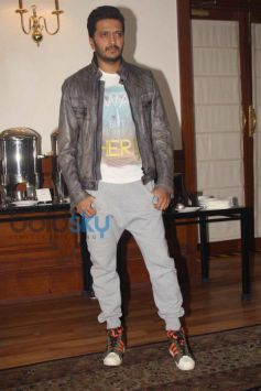 Riteish Deshmukh during Humshakals Film Press Meet
