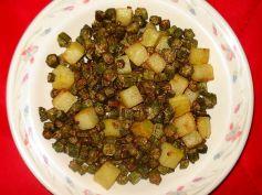 Gujarati Style Bhindi Masala