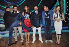 Humshakals cast at sets of DID Little Master