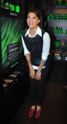 Jacqueline Fernandez at Launch of SPA CEYLON