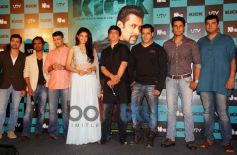 Jacqueline Fernandez and Salman Khan at Kick Trailer Launch