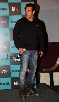 Salman Khan at Kick Trailer Launch