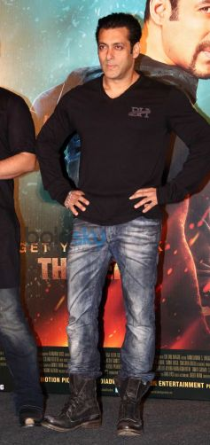 Salman Khan at Kick Trailer Launch