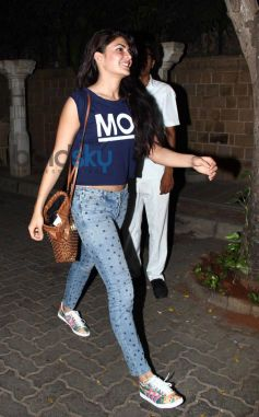 Jacqueline Fernandez at Sonam Kapoor Birthday Celebration