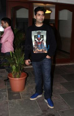 Karan Johar at Siddarth Malhotra's Party