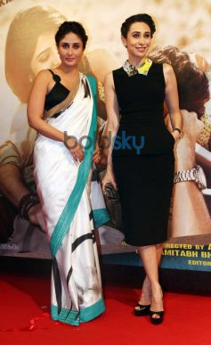 Kareena, Karishma Kapoor stuns at Lekar Hum Deewana Dil Music Launch
