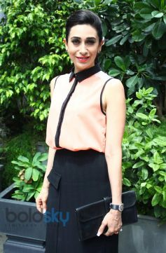 Karisma Kapoor stuns at Jackpot Winners Announcement