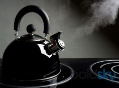Kettle Blows Out Steam