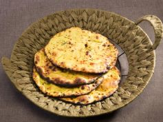 Oats Vegetable Roti