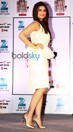 Parineeti chopra at  Zee TV's Cinestars Ki Khoj