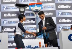 Rahul Dravid at Gillette Campaign