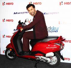 Ranbir Kapoor at Hero Motocorp meet Event
