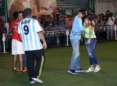 Ranbir plays football to promote film Lekar Hum Deewana Dil