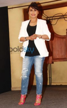 Rani Mukerji stuns during trailor launch of Mardaani