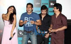 Salman and Jacqueline launch Jumme Ki Raat song of Kick