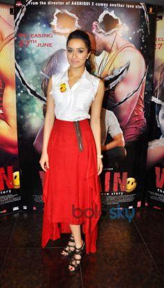 Shraddha Kapoor at Ek Villain Film Media Interaction