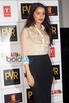 Shraddha Kapoor at Ek Villain Press Meet