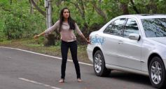 Shraddha Kapoor promotes Ek villain on the sets of CID