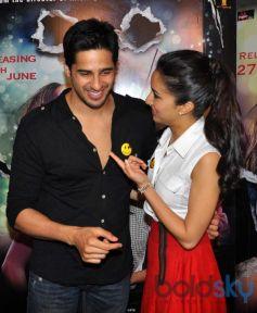 Shraddha Kapoor and Sidharth at Ek Villain Film Media Interaction