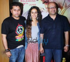 Shraddha Kapoor stuns at Ek Villain Song Recording