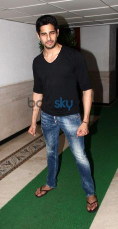 Siddarth Malhotra's during Party