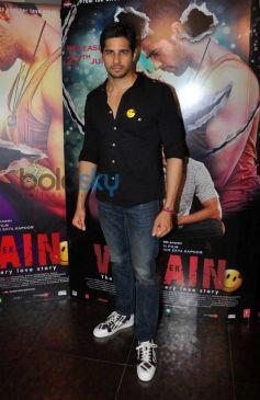 Sidharth at Ek Villain Film Media Interaction