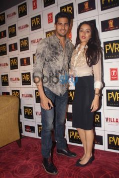 Sidharth Malhotra and Shraddha Kapoor at Ek Villain Press Meet
