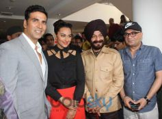 Sonakshi Sinha stuns during Holiday Film Promotion