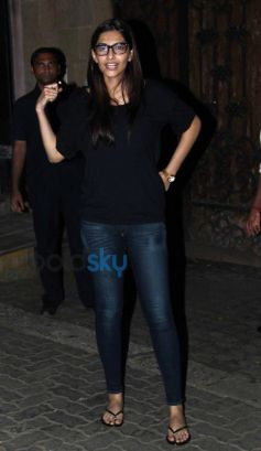 Sonam Kapoor Celebrates Birthday at Home
