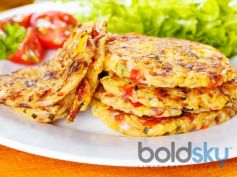 Spicy & Sweet Potato Pancake