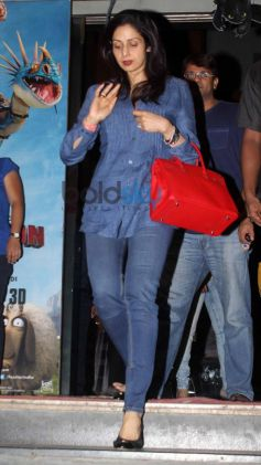 Sridevi and Celebs Snapped at Cinemax