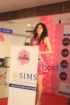 Taapsee Pannu Brand Ambassador of Chennai Turns Pink