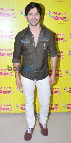 Varun Dhawan at Radio Mirchi for Their Film Promotion
