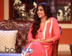Vidya Balan stuns at Comidy Nights during Film Promotion