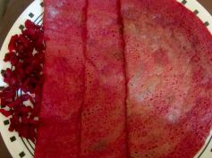 Yummy Beetroot Dosa Recipe