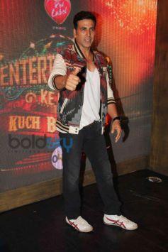 Akshay Kumar during Entertainment Film Promotion