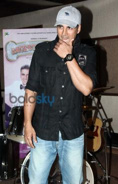 Akshay Kumar Song Recording for his next film Entertainment