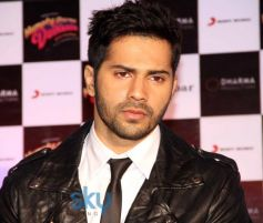 Varun Dhawan stuns during Film Promotion