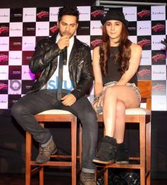 Alia Bhatt and Varun Dhawan stuns during Film Promotion