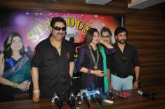 Alka Yagnik and Kumar Sanu at Stardust London Concert