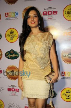 Amy Billimoria stuns at a Dinner Party