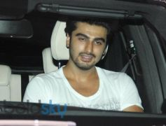 Arjun Kapoor snapped at Karan Johar House