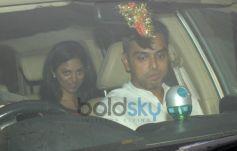 Celebs Snapped at Karan Johar Party
