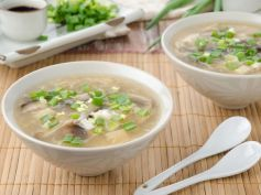 Chicken Mushroom Soup For Monsoons
