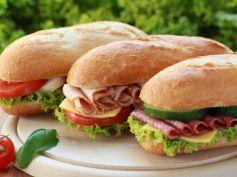Chicken Salami Sandwich