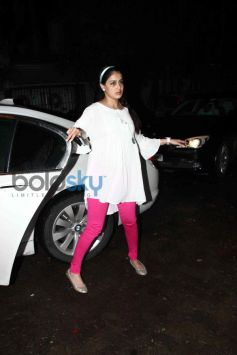 Genelia D'Souza at special screening of Lai Bhaari