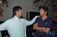Javed Jaffrey in a Funny Conversation with Chunkey Pandey