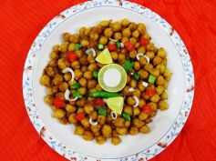 Khatta Meetha Chana Chaat For Ramadan